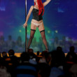 Royalty-Free Stock Photo: Strip club